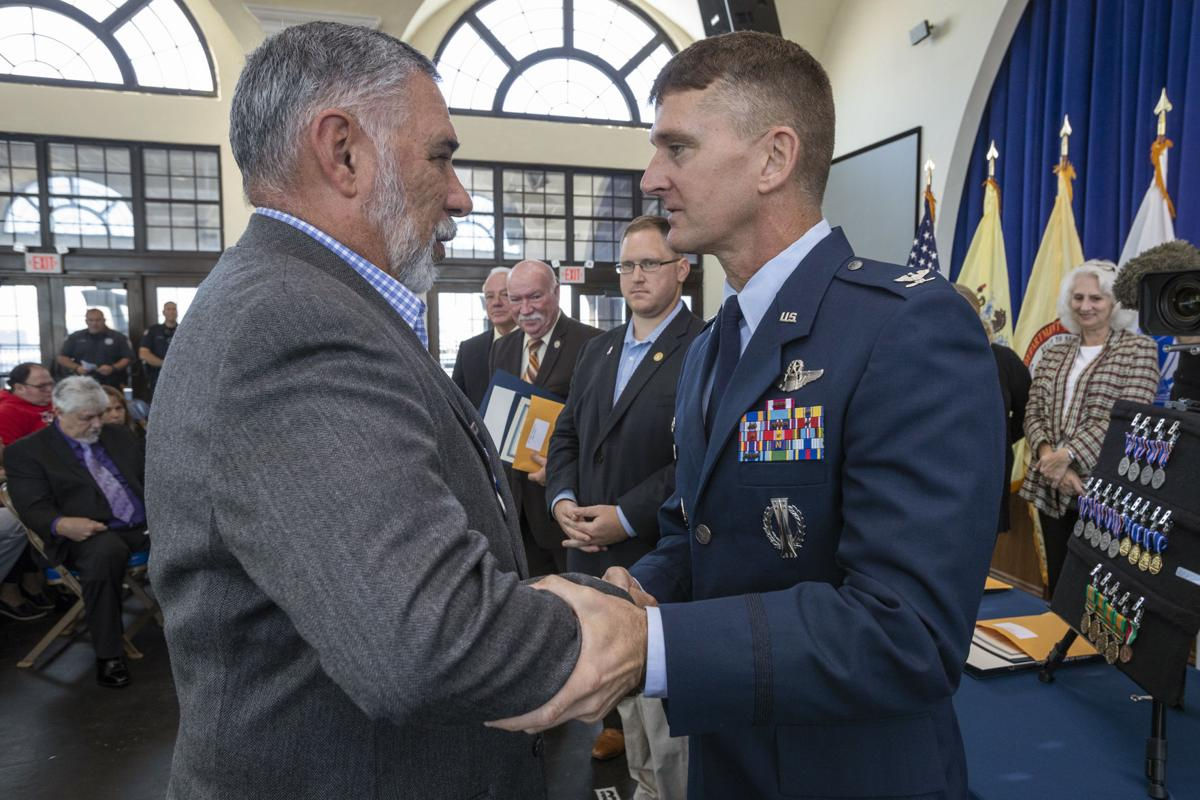 NJ State Medals Awarded to Over 20 Veterans at Ocean City Ceremony