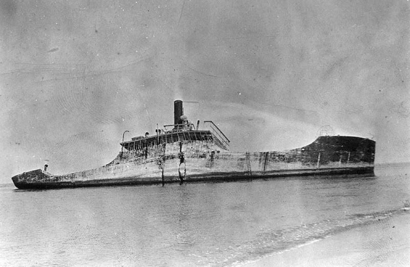 The Concrete Ship SS Atlantus