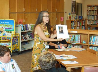 Special Services School District Students Hear Presentation on 'Song of Myself'