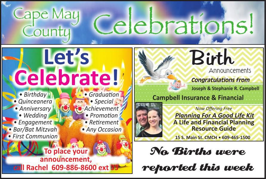 Celebrations for 04-22-2020