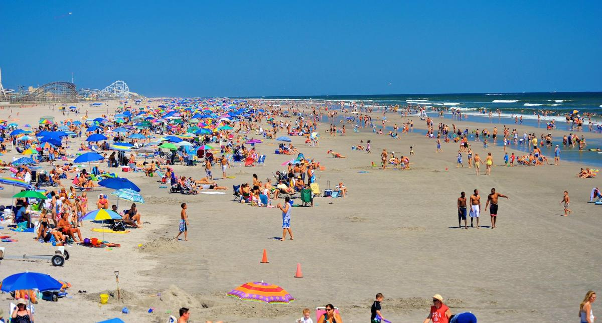 Wildwood Beach Named The Best Beach In New Jersey By Usa Todays