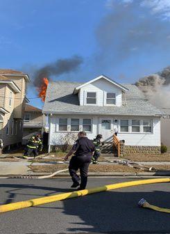 N. Wildwood Dwelling Blaze Quickly Extinguished