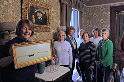 Questers Help Restore Two Physick Family Paintings