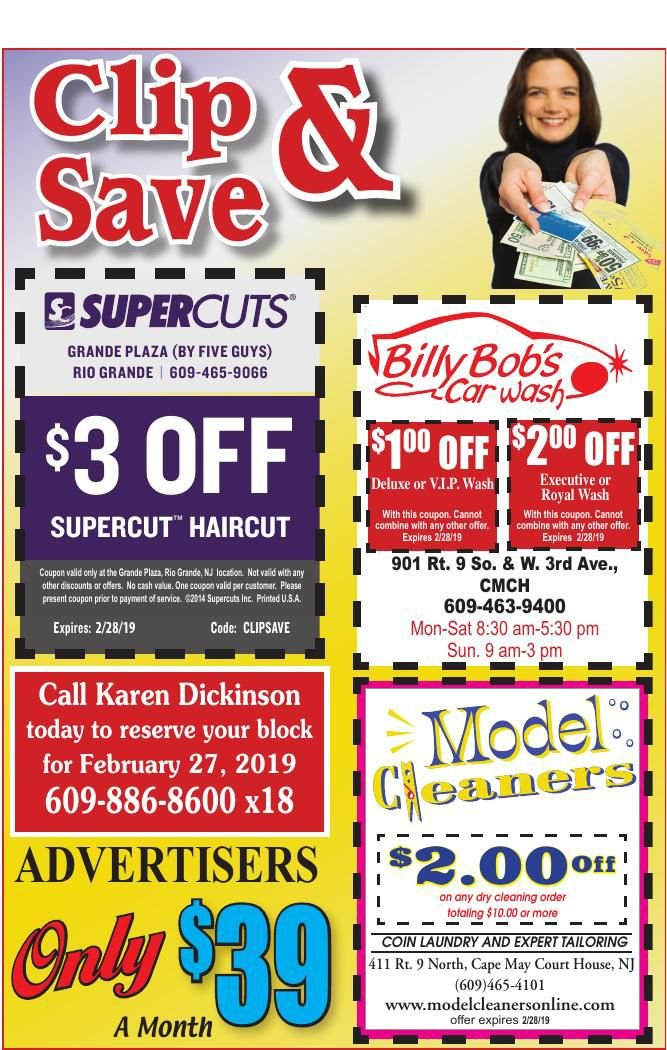 Clip N Save for 01-30-2019
