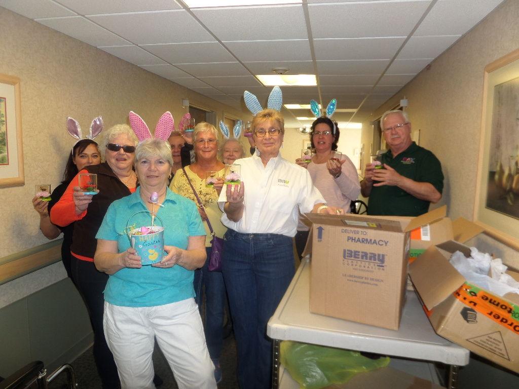 Disabled american vets dav delivered easter gifts to nursing home disabled american vets dav delivered easter gifts to nursing home negle Images