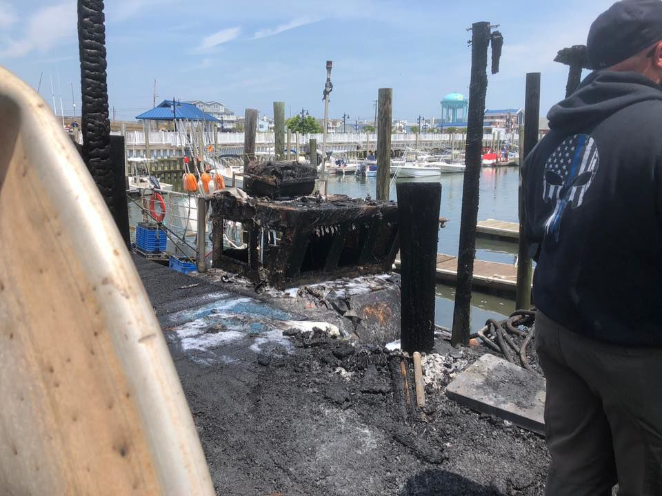 Sea Isle City Shed Fire Spreads to Fuel Tank, Fishing  Boat
