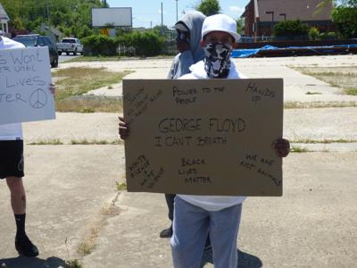 Protestors Gather in Rio for George Floyd