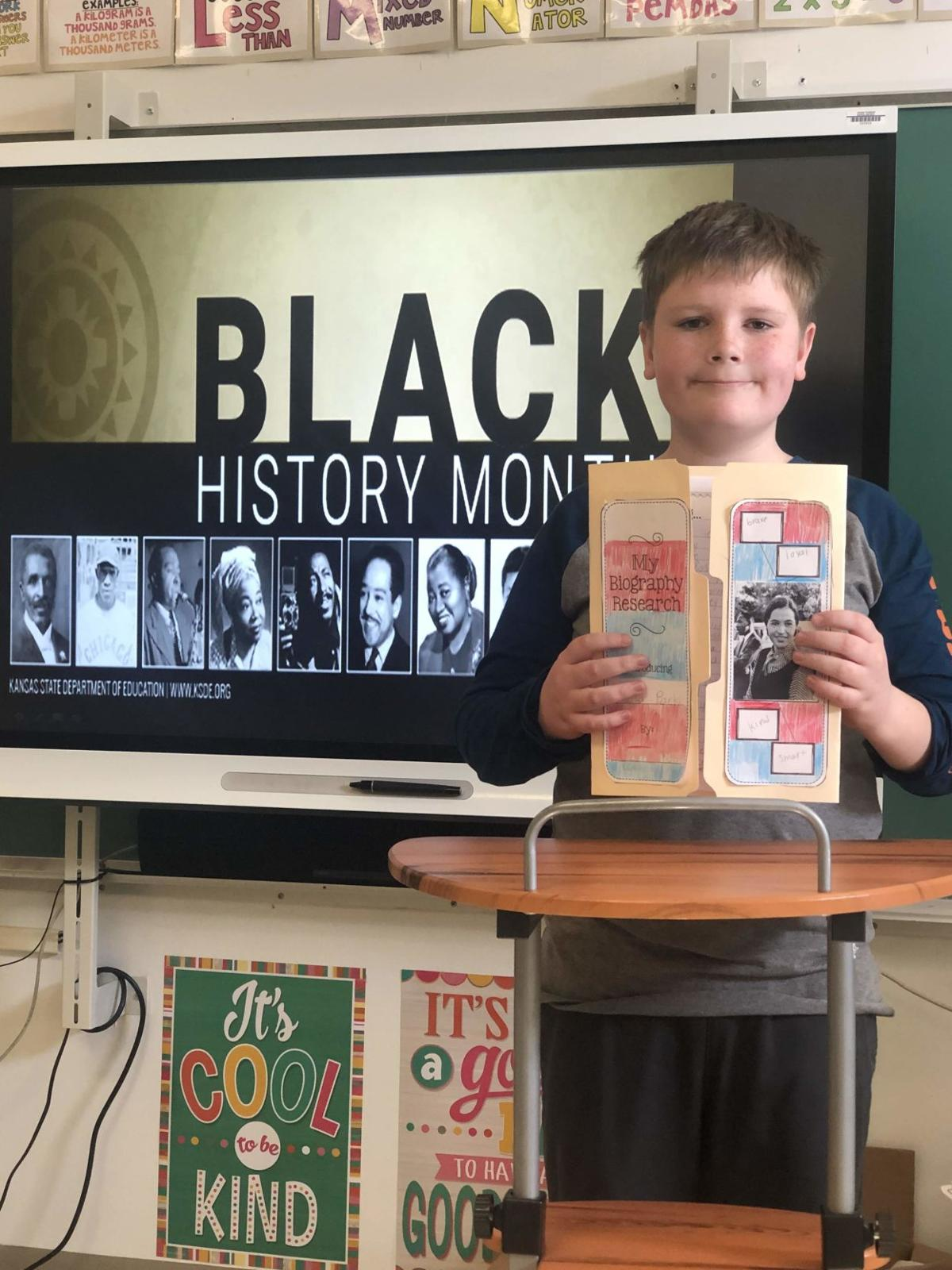 Dennis Township School Marks Black History Month
