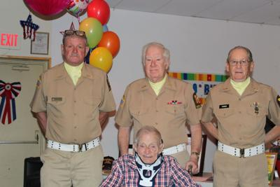 Army Reserve Officer Marks 100th Birthday