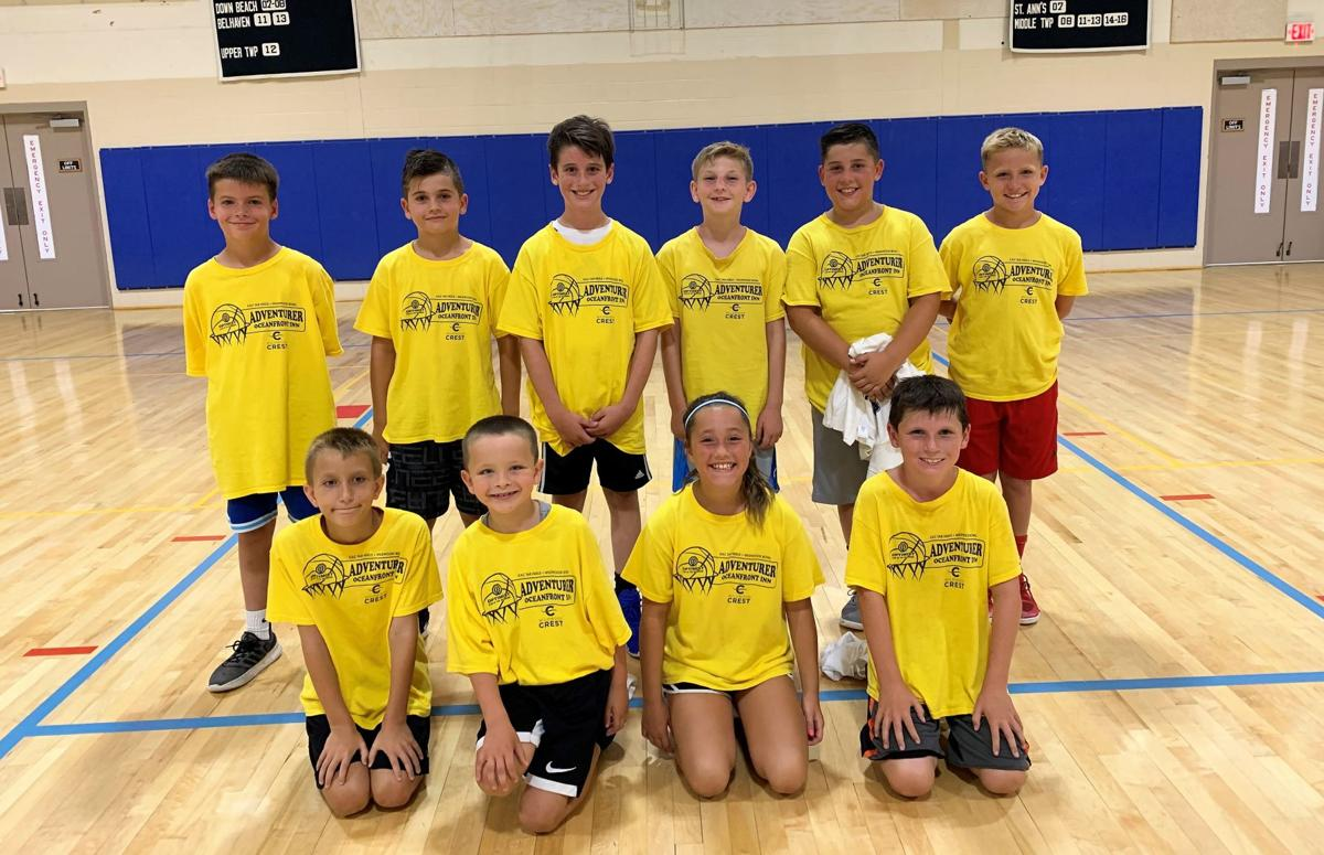 Wildwood Crest Recreation Summer Basketball Results, Aug. 4, 6
