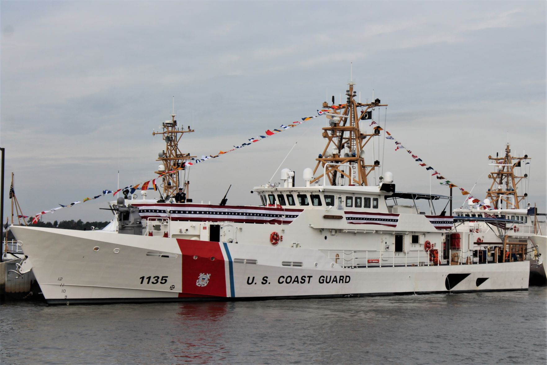 Honor Country US Coast Guard Retired License Plate