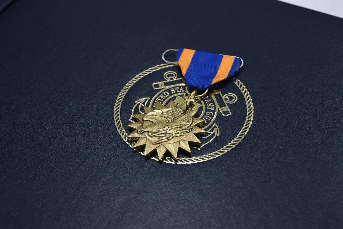 CG Awards Medals for Heroism, Meritorious Achievement for Rescue, Hurricane Cases