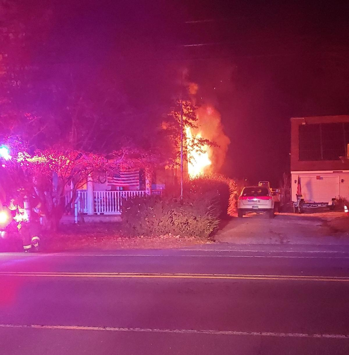 1 Injured in Green Creek Fire