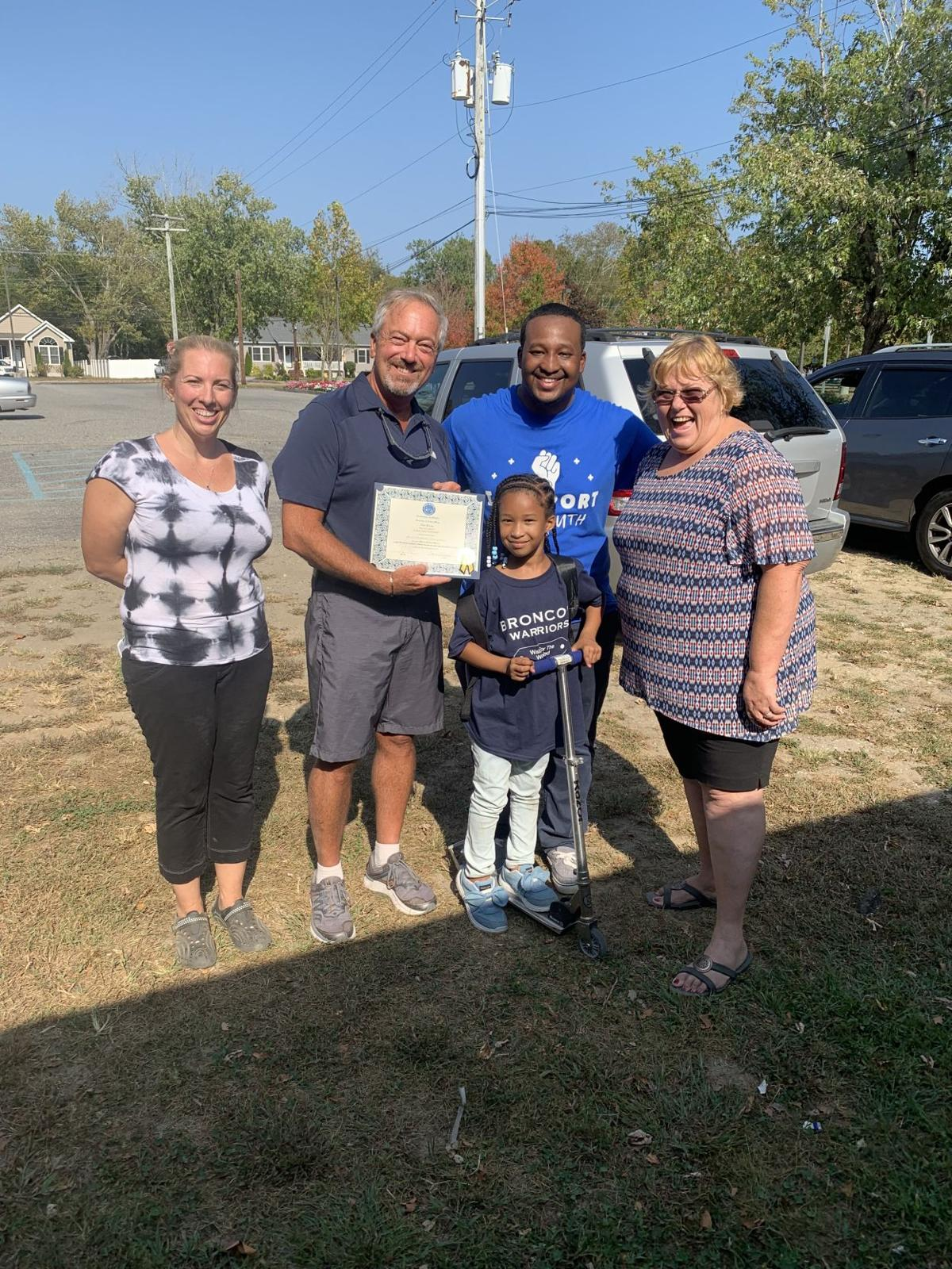 First Million Fathers March in County Held Oct. 5 in Whitesboro