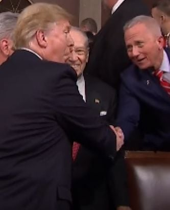 Van Drew Lauds State of the Union, Stresses Bipartisanship