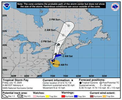 Flash Flood Warning Issued; Tropical Storm Warning Continues