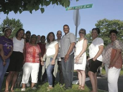 Street Renamed in Vasser's Memory