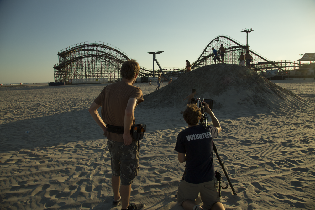 Movies on Wildwood's Sand