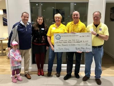 Burke Presents Donations from Company Program