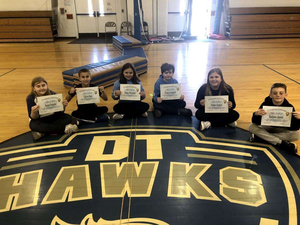 Dennis Township Elementary, Middle Schools Honor March Students of Month