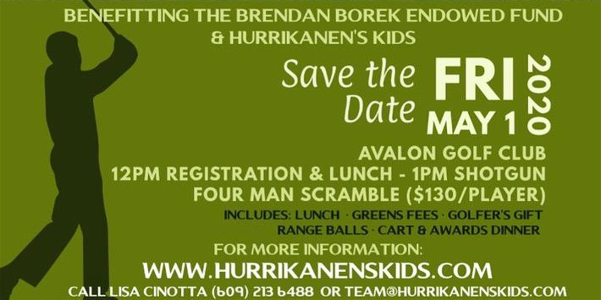 15th Annual Brendan Borek & Hurrikanen's Kids Charity Golf Tournament