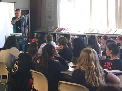 Middle Township Middle School Hosts Author/Speaker Gemeinhart