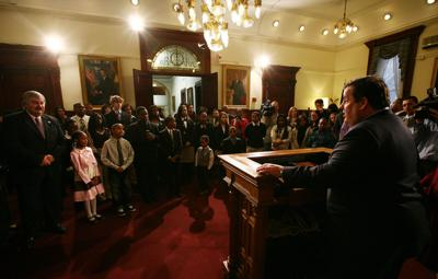 Woodbine Essayist Honored by Governor Christie