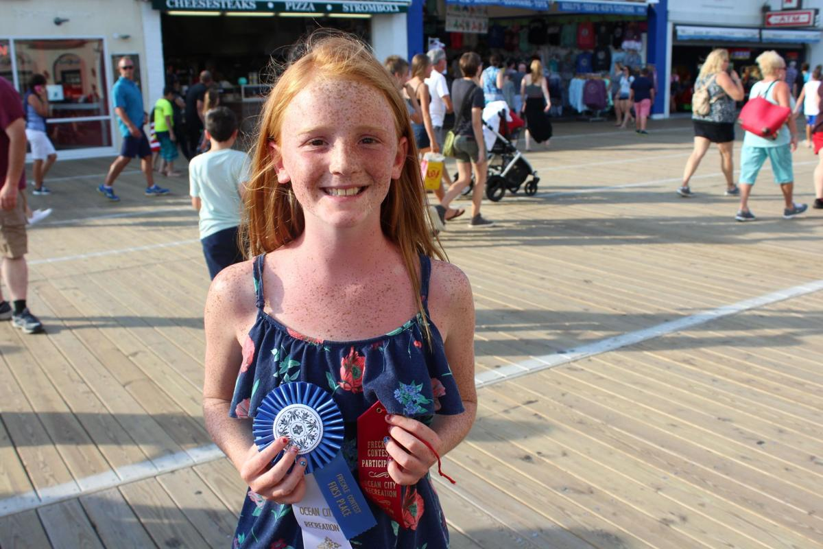 ocean city�s annual freckle contest winners announced