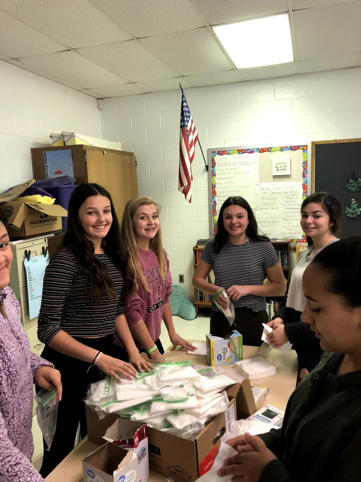 Dennis Township Middle School Clubs Aid Atlantic City Rescue Mission