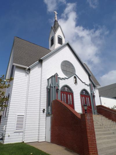 Painter Donates Time, Talent to St. Joseph Church