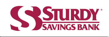 Sturdy Savings Bank Logo - Use This One