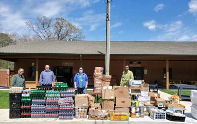 Cape May – Lewes Ferry Donates Provisions to Local Food Pantry