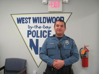 Officer Montes Making a Difference in West Wildwood, Easing Tension