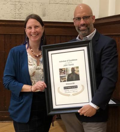 WBID President Honored for Improving Downtown Wildwood
