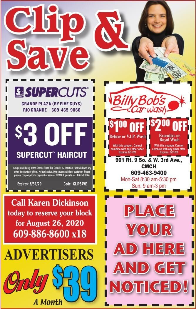 Clip N Save for 7-29-2020