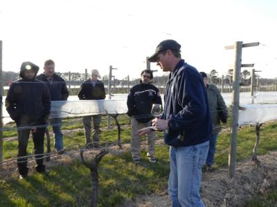 Todd Wuerker, owner of Hawk Haven Winery and host of the Twilight Meeting in Cape May County, discusses growing wine grapes in Cape May County.