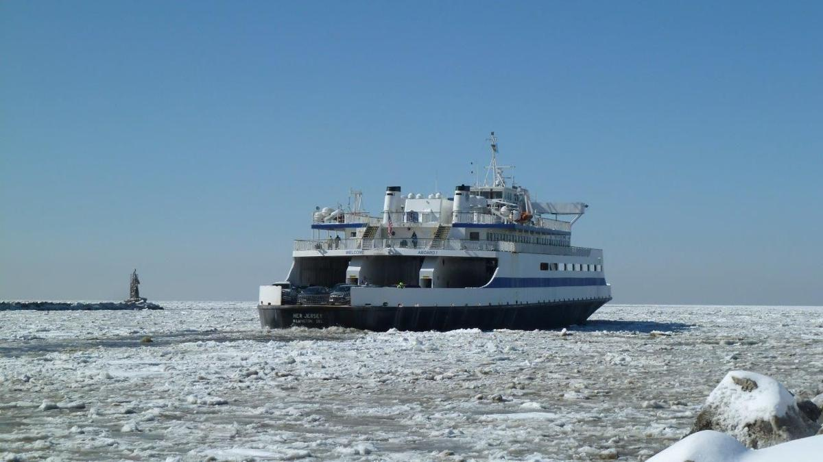 update: ice conditions halt cape may – lewes ferry operations for