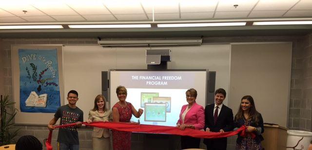 ocean city home bank helps area high schools meet financial literacy rh capemaycountyherald com