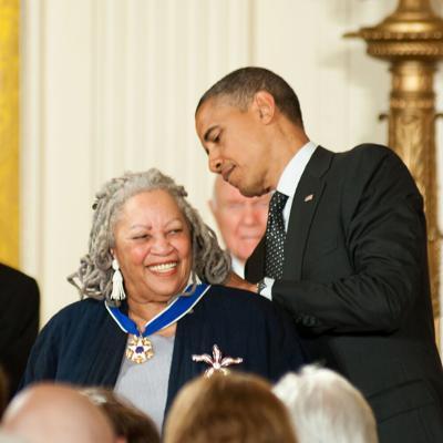 Toni Morrison, Obama - Shutterstock