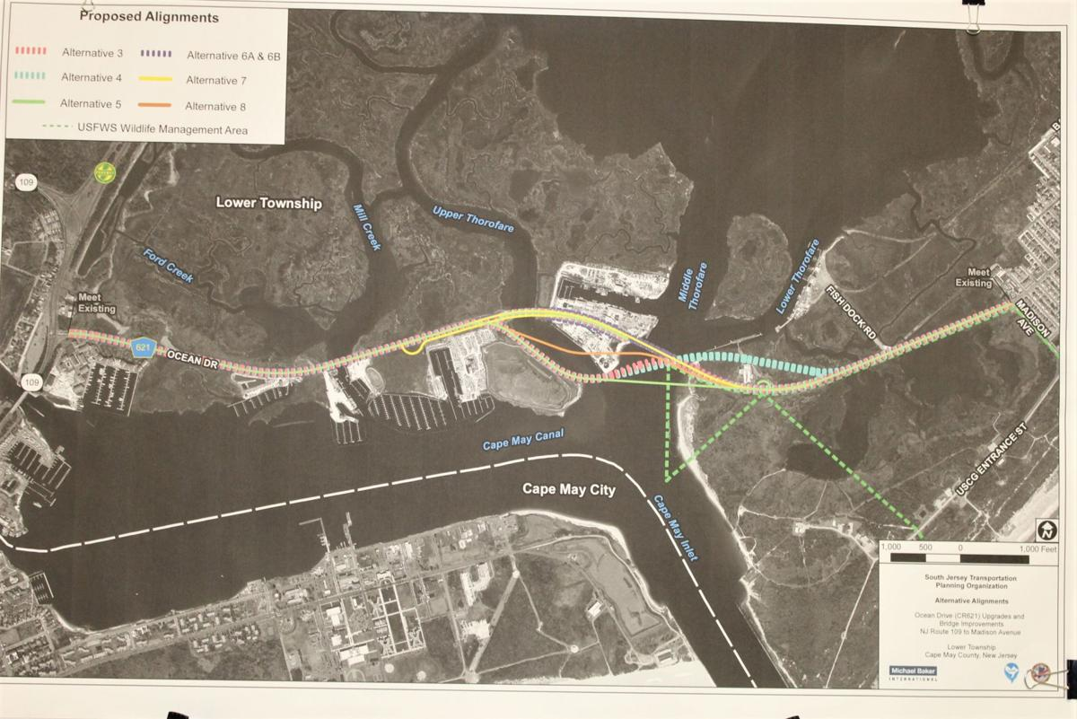 Middle Thorofare Bridge Designs Shown; Stakeholders,' Public's Input Sought