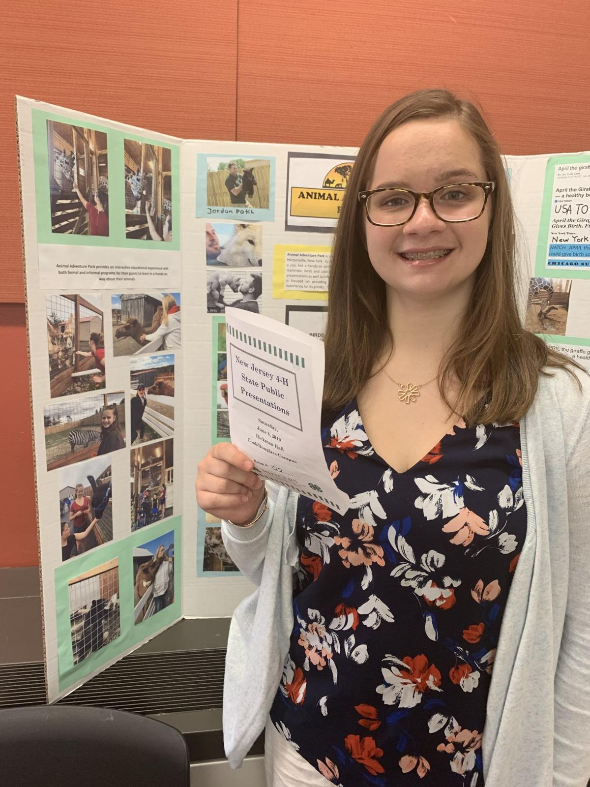 Cape May County 4-H Members Compete at the 2019 State 4-H Public Presentation Contest