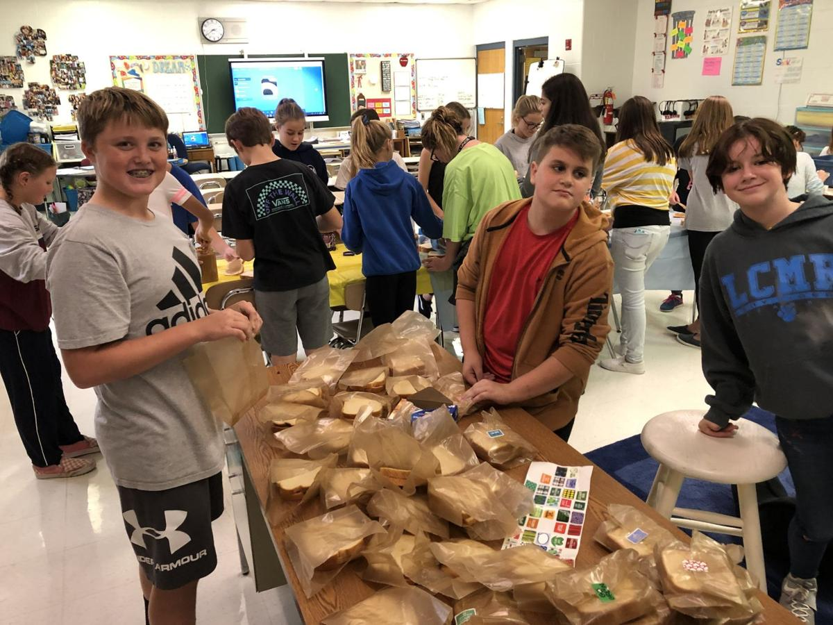 Dennis Township Middle School Clubs Aid Community