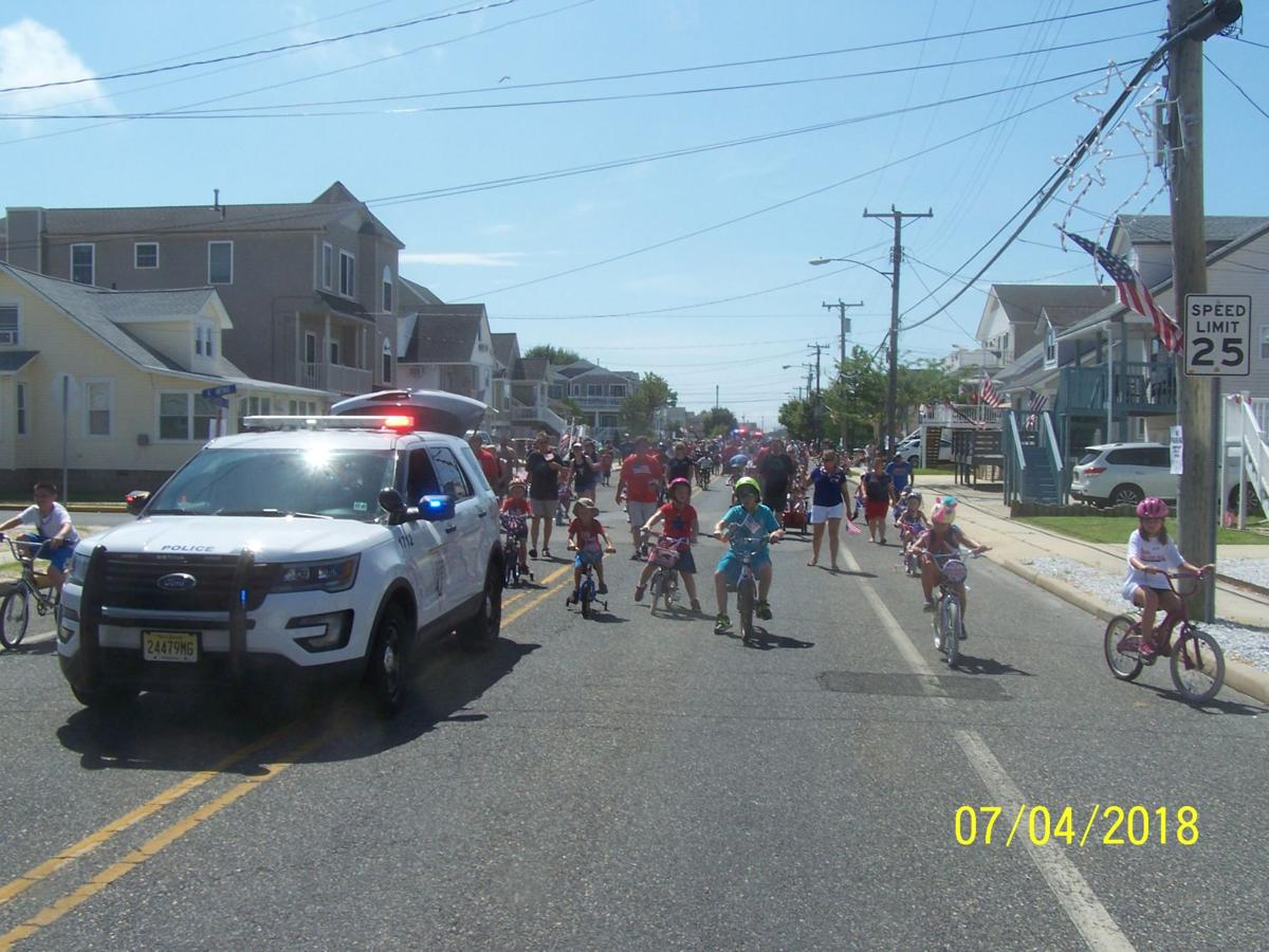 West Wildwood Celebrates 4th With Children's Parade 1