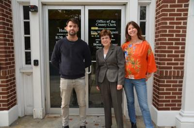 County Clerk Meets Europeans Reporting on General Election