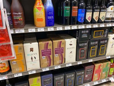 Orlando,fl/usa,-5/13/20:,A,Bottles,And,Boxes,Of,Various,Wine,At