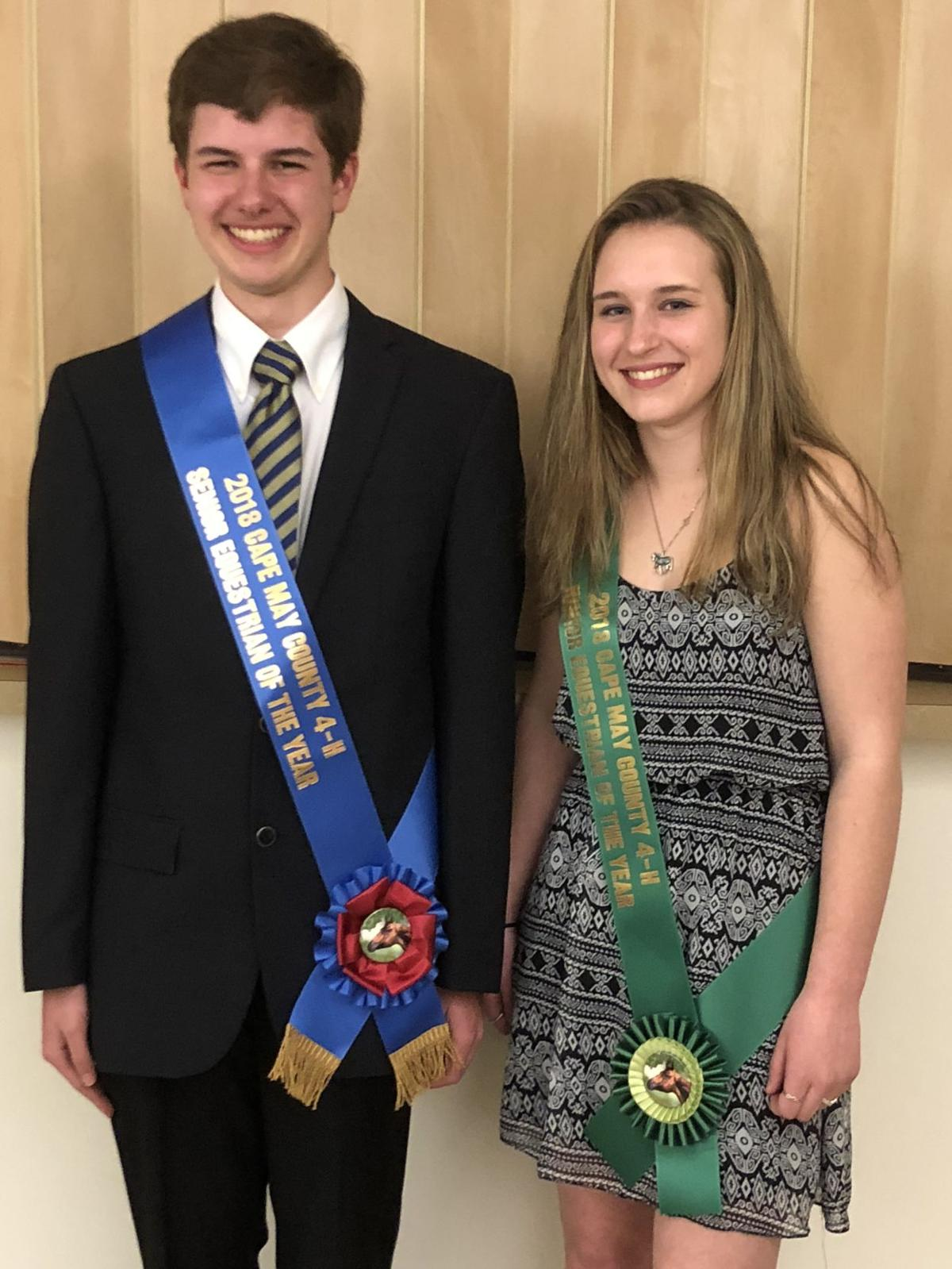 2018 Cape May County 4-H Equestrians of the Year2