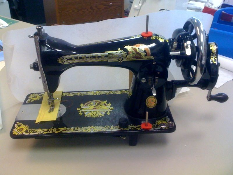 recycling old sewing machines business