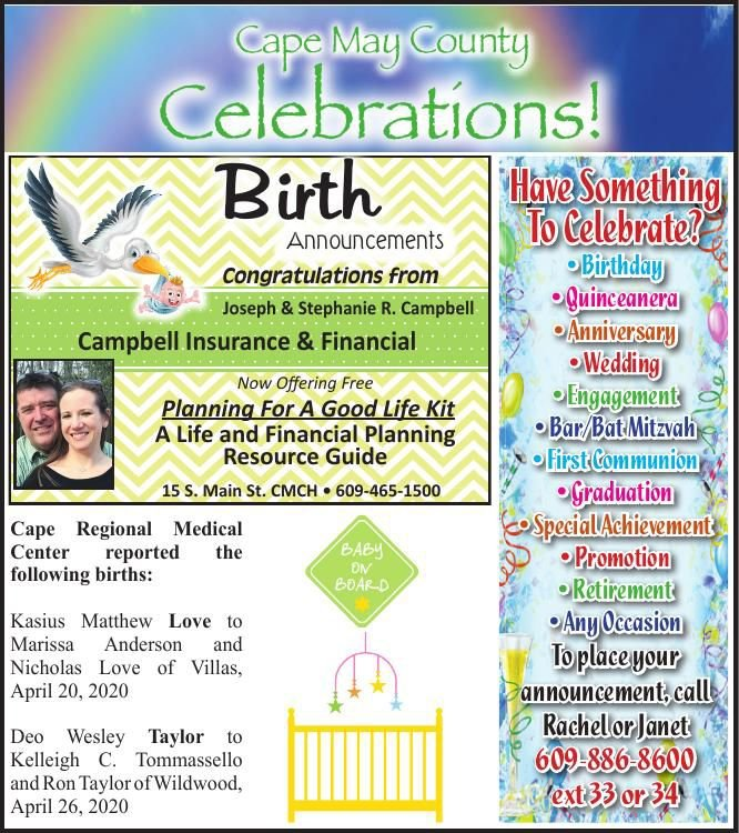 Celebrations for 05-13-2020