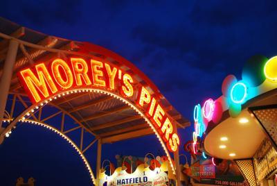 Morey's Pier Entrance - Shutterstock