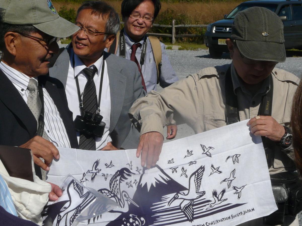 Japanese Ecologists Visit Meadows Restoration